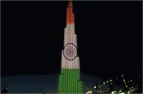 burj khalifa will light up in celebration of the indian republic day
