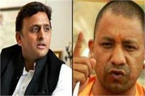 yogi akhilesh dig  said wire having grabbed state power or not at gorakhpur