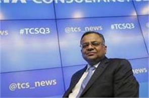 n chandrasekaran took over as chairman of tata sons