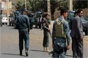 attacks in afghanistan kill 9 policemen cleric and his wife