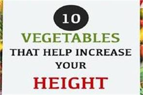 10 vegetables that help increase your height