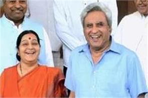 sushma swaraj husband swaraj kaushal
