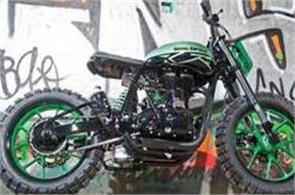 royal enfield green fly unveiled