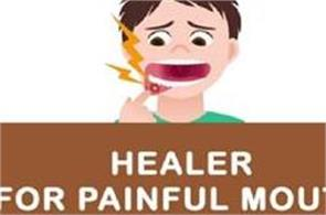 healer for painful mouth ulcers