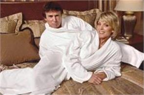 trump wearing bathrobe pics viral on twitter