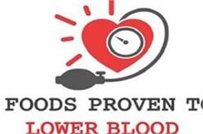 foods proven to lower blood pressure