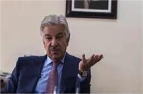 pak defence minister slammed in his country over saeed remark