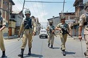 security forces strict against stone pelters in kashmir