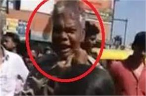 woman thrashes odhav cop in public for indecent proposal