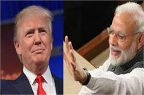 donald trump congratulates pm modi for winning in assembly elections