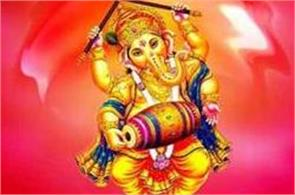 vinayaka chaturthi today bring in the attractive form of ganesha