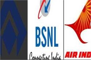 sail  bsnl and air india was the worst performing
