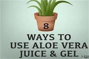 8 ways to use aloe vera juice   gel