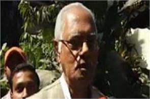 bjp mla shyam dev chaudhary announced the retirement from politics