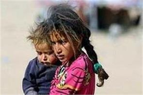 15000 children displaced from mosul unicef