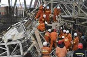 9 killed 6 injured in central china scaffold collapse