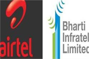 airtel sells 10 3 percent stake in bharti infratel