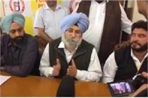 h s phoolka addressed the media a press club jalandhar