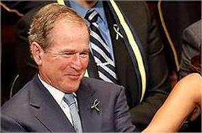 george w bush explains his fondness for michelle obama