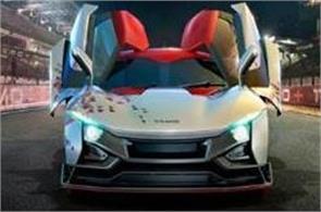 tata motors unveils sports car racemo