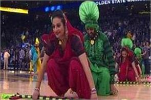 bhangra fever hits basketball courts  video goes viral