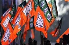 manipur bjp legislator from the governor claims to form government