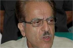saifuddin soz says  kashmir problem due to india not pakistan