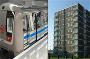 delhi metro flats soon to be up for sale