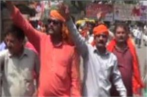 vhp and bajrang dal s rebellion started as bjp formed in up