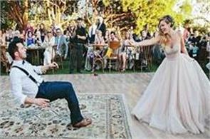 bride pulls off amazing magic trick by making her husband float