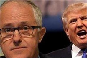 ttrump to meet turnbull after fiery call