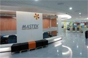mastek  28 5  increase in profits
