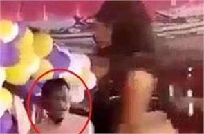 jdu mla seen in jolly mood with bar girls in bihar video viral
