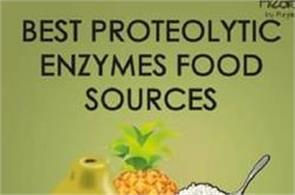 best proteolytic enzymes food sources