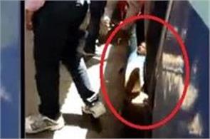 mp army personnel trapped under moving train escape