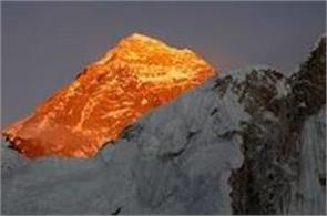 historic hillary step of mount everest collapses