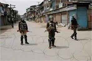 curfew in many areas after violence in jammu