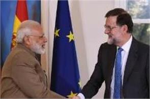 pm modi to meet spanish president today