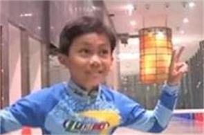 8 year old delhi boy breaks world record in limbo skating
