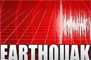 earthquake tremors on sulawesi island of indonesia