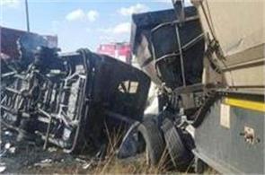 35 children including 35 schoolchildren died in a mini bus in tanzania