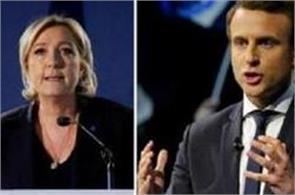 france cast votes for new president