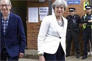 conservative largest party in the exit polls of the uk elections
