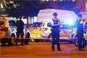 london casualties after vehicle hits pedestrians one person arrested