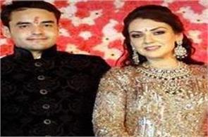 om prakash chautala daughter in law married today