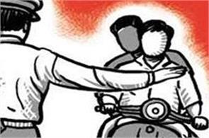 40 marshals on 40 traffic policemen in mohali