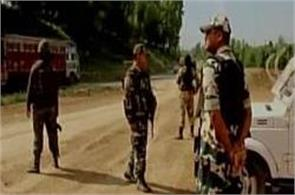 terrorists fired upon 2 security force vehicles in anantnag