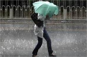 monsoon gave a knock in north india