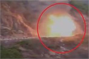 gas cylinder explosions on nh 58 in khankra