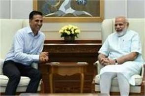 prime minister modi praised akshay kumar  s film toilet